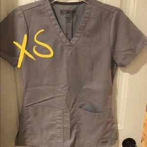 Grey Greys Anatomy Scrub Set
